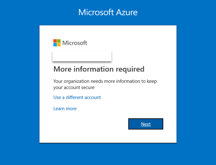 Pre-register authentication data to Azure AD Users for MFA