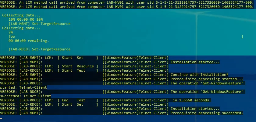 Applying basic system configuration using PowerShell DSC